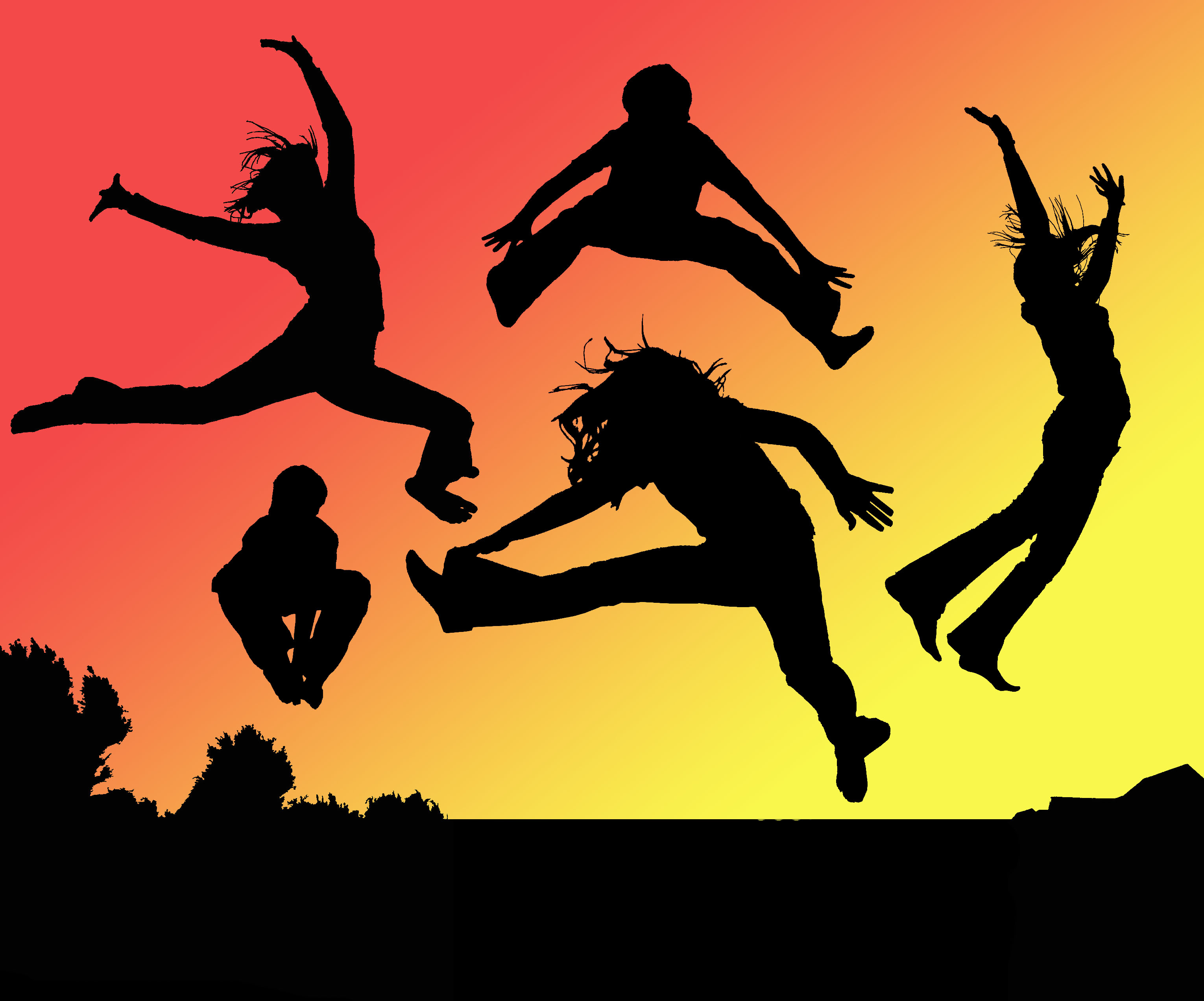 Jump into what makes you feel good.
